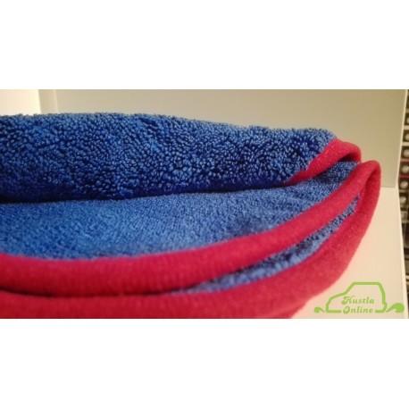 Hustla Online Świat Kosmetyków - Navy Blue Cloth 320gsm granatowa mikrofibra