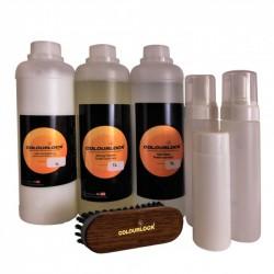 Pakiet detailera do czyszczenia i konserwacji tapicerek skórzanych