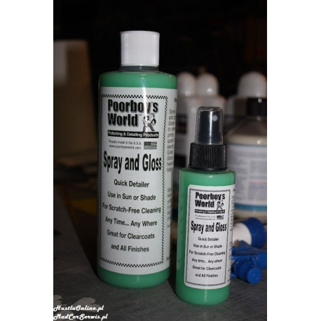 Poorboy`s World Spray and Gloss 473 ml