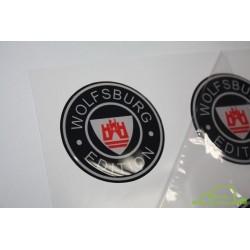 Naklejka 3D polimerowa Ferrari tarcza 5,3x6,9cm