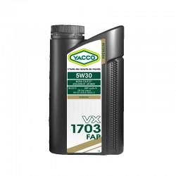 YACCO VX 1703 FAP 5W30 1L - 5L olej dla silników spełniających EURO 4