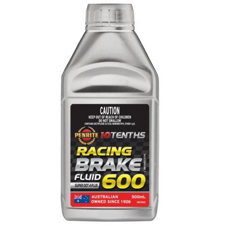 Penrite RACING BRAKE FLUID Super DOT 4 Plus 500ml - sportowy płyn hamulcowy
