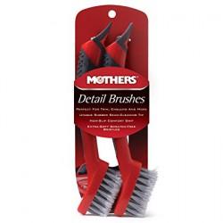 Mothers Detail Brushes - małe szczoteczki do detali 2szt.
