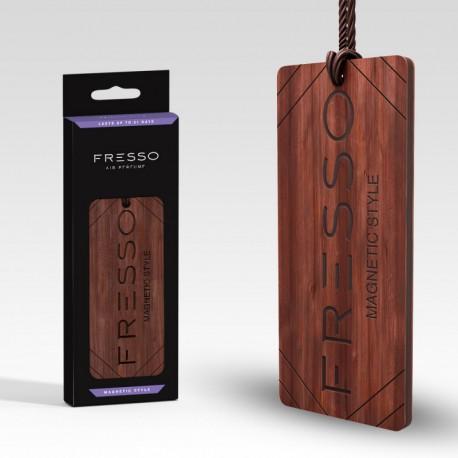 Fresso - drewniane zawieszki zapachowe - trwałość 31dni