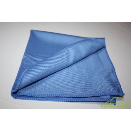 Hustla Online Świat Kosmetyków - Blue Glass 240gsm niebieska szmatka do szyb